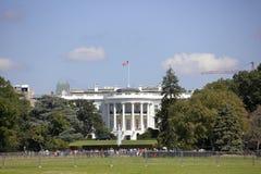 Туристы посещая DC Белого Дома Стоковые Фотографии RF