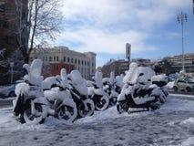туристы снежка rome памятников миллионов изображений стародедовского города вечные пробуждающий воспоминания под посещено Стоковые Изображения