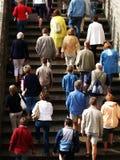 туристы стоковые фотографии rf