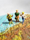 туристы Стоковое Изображение