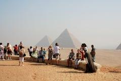 туристы Стоковое фото RF