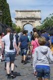 туристы rome Стоковые Фотографии RF