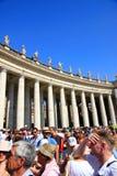 туристы vatican города Стоковая Фотография