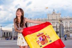 Турист в Испании Стоковые Фото
