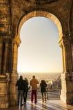 Турист в Париже, Франции Стоковое Изображение RF