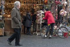 Турист в Рим Стоковое фото RF