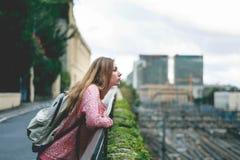 Турист в Genova Стоковые Фото