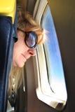Турист летания Стоковое Изображение RF