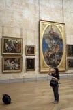 турист жалюзи Стоковая Фотография RF