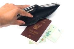 Турист из денег Стоковое Изображение RF