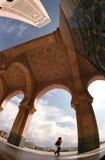 турист мечети стоковое фото