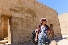 Турист на Египте стоковое изображение rf