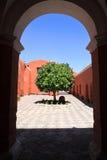 турист Перу назначения arequipa Стоковое Изображение