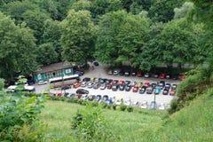 турист стоянкы автомобилей серии Стоковая Фотография RF