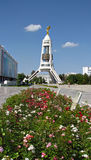 Туркменистан - памятники и здания Ашхабада Стоковые Фотографии RF