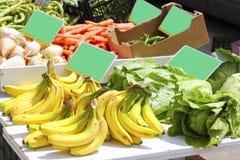 турнепс перца рынка салата фасолей банана Стоковое Фото
