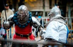 Турниры рыцаря в Украине стоковое изображение rf