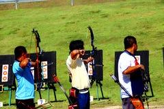 Турнир Archery Стоковые Фото