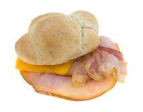 Турции груди сандвича конец вверх Стоковое Изображение