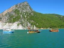 Турция. Зеленый каньон Стоковая Фотография