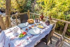 Турция, Kocaeli, Masukiye популярное назначение для еды и тратить времени стоковое фото rf
