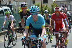 Тур-де-Франс - этап 2 до 2018 Стоковое Изображение RF