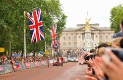 Тур-де-Франс в Лондоне, Великобритании Стоковая Фотография RF