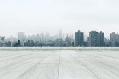 Тускловатая предпосылка города Стоковая Фотография RF