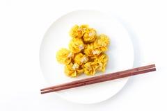 Тусклая сумма, китайская еда, китаец испарилась вареник Стоковое Изображение