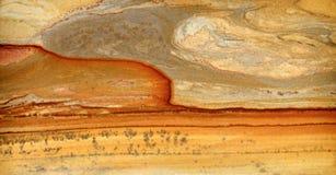 Туф-вулканическая лава Стоковая Фотография