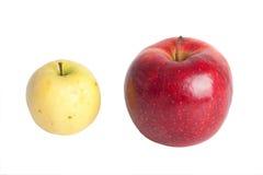тухлое яблока свежее Стоковая Фотография RF