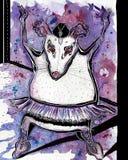 Тучная балерина крысы Стоковые Фото