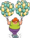 Тучная женщина Стоковое фото RF