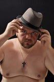 тучные детеныши человека Стоковое Фото