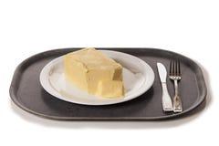 Тучный обедающий Стоковые Изображения