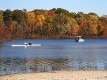 тучный тощий watercraft Стоковые Изображения