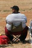 тучный человек стоковое изображение rf