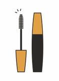 Тушь для значка ресниц Стоковые Изображения RF