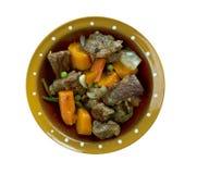 Тушёное мясо говядины бака глиняного кувшина Стоковая Фотография RF