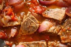 Тушёное мясо говядины Стоковые Фото