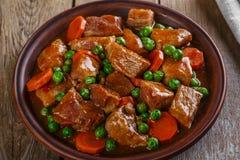 Тушёное мясо говядины Стоковое Фото
