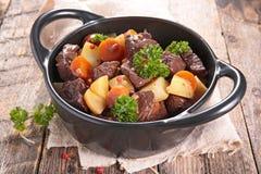 Тушёное мясо говядины Стоковые Фотографии RF