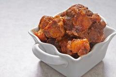 Тушёное мясо кабелей говядины стоковое изображение