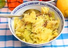 Тушёное мясо капусты Стоковое Изображение RF