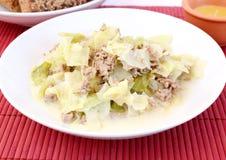 Тушёное мясо капусты Стоковая Фотография RF