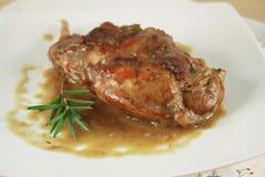 Тушёное мясо кролика Стоковое Изображение