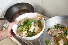 Тушёное мясо рыб Стоковые Фотографии RF