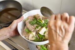 Тушёное мясо рыб Стоковое Изображение