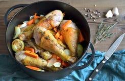 Тушёное мясо цыпленка стоковое изображение