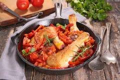 Тушёное мясо цыпленка Стоковая Фотография RF